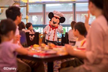 迪士尼好萊塢酒店米奇廚師餐廳餐券