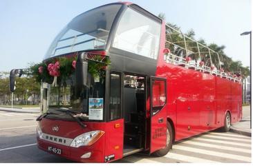 【澳門】敞篷雙層巴士一日遊--電子票