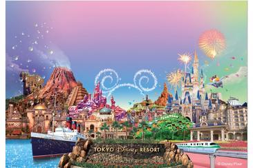 【無保證入園】東京迪士尼1日門票 樂園海洋二選一(A4紙本票)