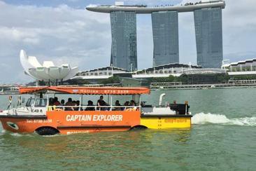 【新加坡】船長探索鴨子船門票(電子票)