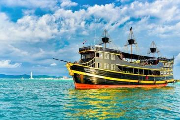 【曼谷】海賊王號海盜船主題落日之旅