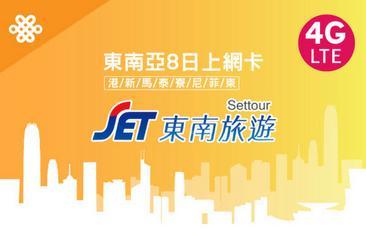 東南亞8日SIM卡(3GB)