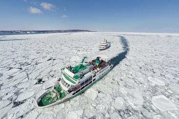 【札幌】網走・流冰碎冰船Aurora號 賞流冰之旅
