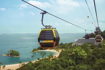 【新加坡】聖淘沙空中纜車往返車票