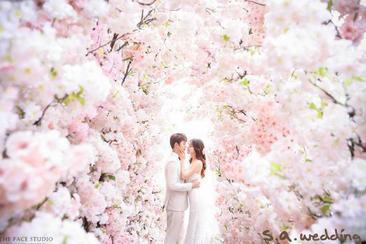 【韓國】自然唯美 輕婚紗拍攝體驗(韓國婚紗第一品牌S.A Wedding)