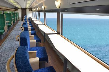 【東日本鐵道假期】伊豆 (IZU) CRAILE號壯觀海景列車 (小田原站或熱海站)