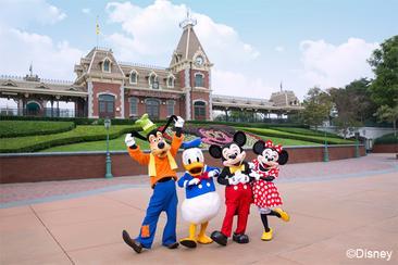 香港迪士尼樂園買、玩2日優惠套票