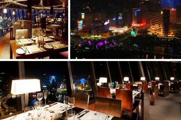 【澳門旅遊塔】360°旋轉餐廳 自助晚餐 - 電子票