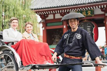 【東京】晴空塔門票+人力車體驗