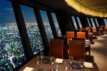 【東京】晴空塔門票+高空全景法式餐廳Sky Restaurant 634