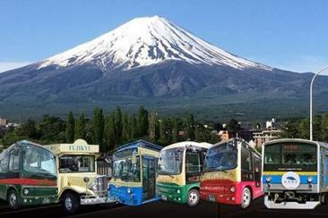 【富士山深度遊】富士山FREE PASS (Mt.Fuji pass)