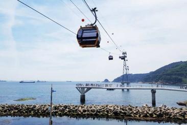 【釜山】松島海上纜車來回門票(一般 / 水晶車廂)