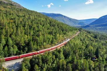 北歐四國斯堪地那維亞火車通行證