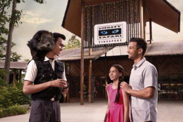 【新加坡】夜間動物園含遊園車(電子票)