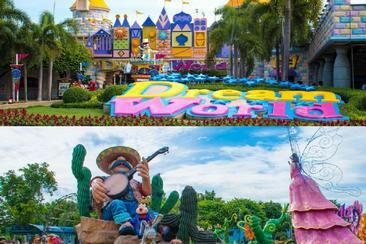 【曼谷】夢幻世界主題樂園--電子票