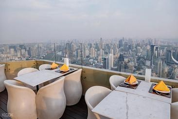 【曼谷】Baiyoke Sky Hotel彩虹雲霄酒店天空自助餐(電子票)