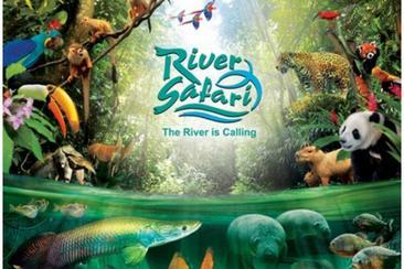 【新加坡】河川生態園門票(含遊船&亞馬遜河探索)--電子票