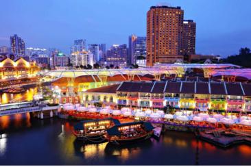 【水上觀光體驗】新加坡克拉碼頭遊船船票