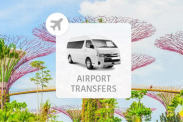 【便捷迅速】新加坡- 機場接送服務