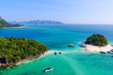 【喀比島】跳4島一日遊:中英文導遊・接送(附午餐・快艇或長尾船)
