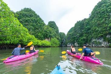 【喀比島】塔蘭紅樹林橡皮艇遊