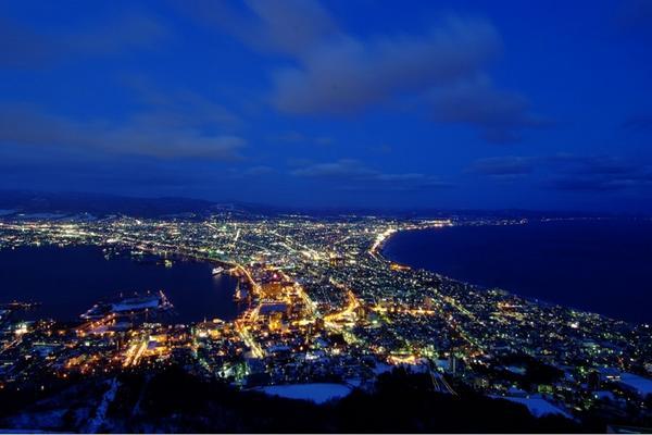 【北海道晶瑩舞曲】函館山百萬夜景.尼克斯海洋公園.白色戀人館5日