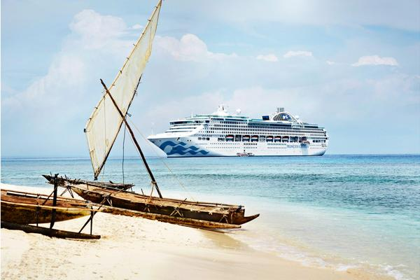 【公主遊輪】碧海公主號~紐澳、杜拜、歐洲深度、環遊世界106晚(船票)