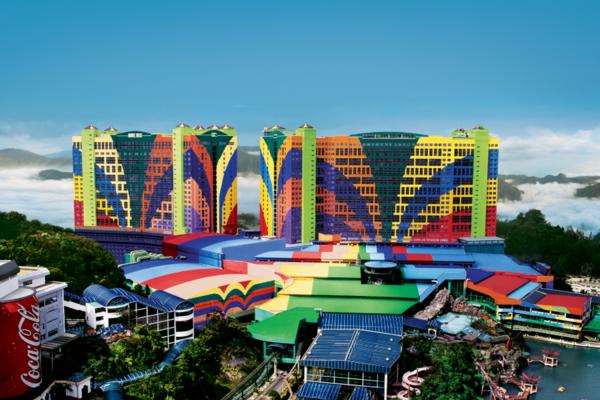 【暢遊馬來】大紅花海上屋泳池VILLA、馬六甲巡禮、雲頂高原娛樂城6日