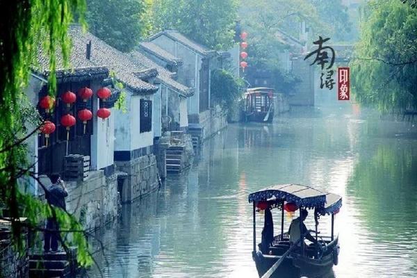 跟著乾隆遊江南、船遊京杭大運河、木瀆、南潯古鎮5日【花轎有機魚頭鍋】