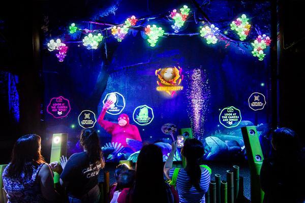 樂遊新加坡~幻光雨林之夜、環球、生態園、夜動 四日