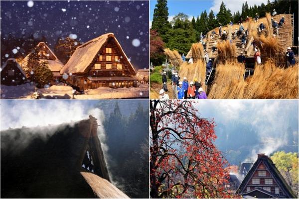 【迷你小團】高山童話合掌村、郡上八幡、名古屋樂購5日