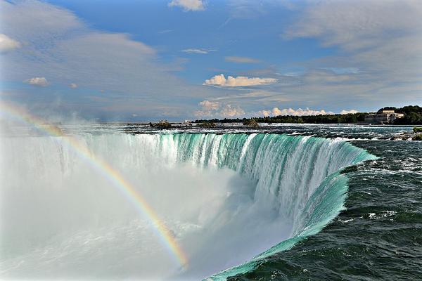 【玩美加族】限殺尼加拉瀑布10日 (魁北克古城、尼加拉瀑布遊船、千島遊船、西恩塔)
