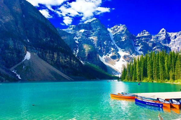 【賺很大】加拿大洛磯山脈~五大國家公園巡禮、四大名湖、冰原雪車、硫磺山纜車10日