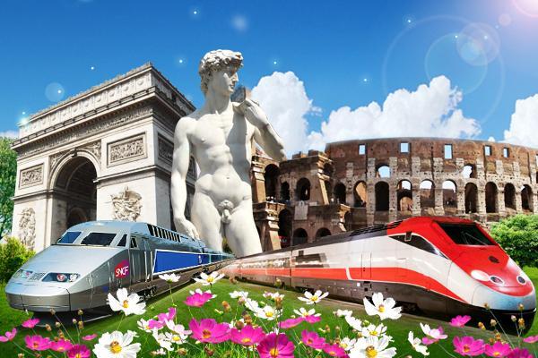 歐洲列國誌 法瑞義 羅浮鐵力士 雙高速列車+雙遊船、6大風味餐10天
