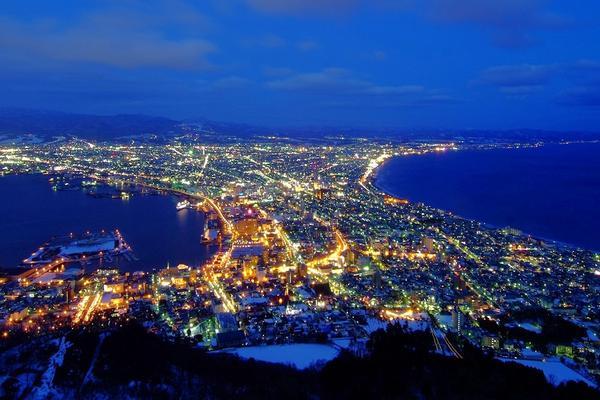【北海道】函館山夜景、洞爺湖、三大螃蟹5日(函館千歲)