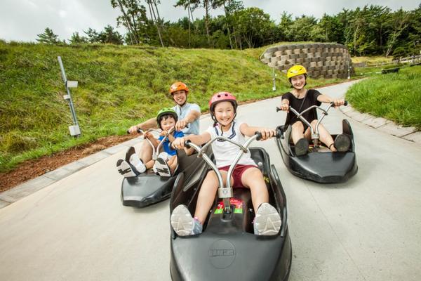 TW~韓國粉好玩~LUGU斜坡滑車、文青咖啡、星空圖書館、樂天世界、明洞5日