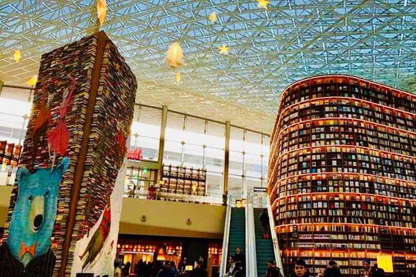 超值韓國~南怡島、星空圖書館、樂天世界、123樂天塔、汗蒸幕.漢江燒烤吃到飽、明洞六日