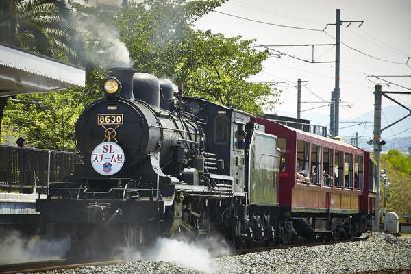 京都鐵道博物館門票| SL蒸氣老火車