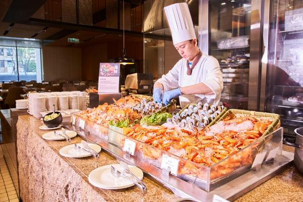 【電子票券】美福飯店 彩匯自助餐廳含服務費