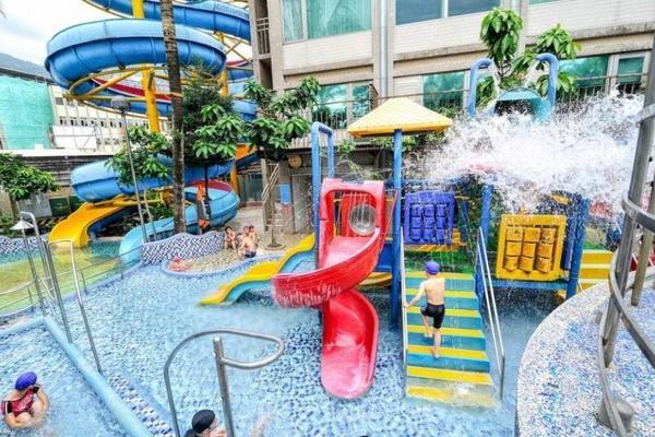 【礁溪溫泉】中冠大飯店星河傳說溫泉水世界|含午餐