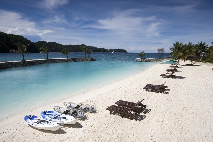 帛琉之星海陸玩透透優質5天-老爺飯店