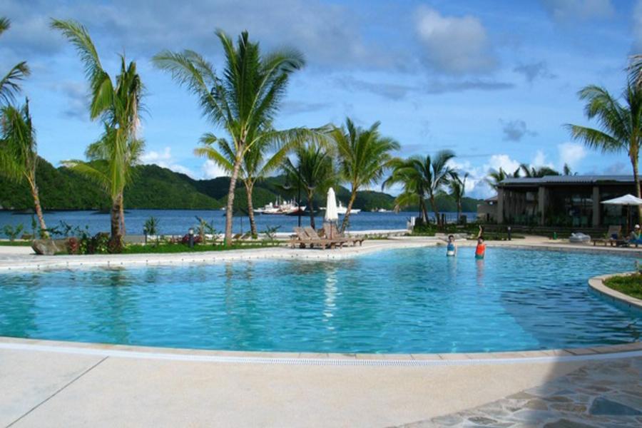 帛琉頂級北島夜釣、大斷層、牛奶湖、海豚灣、星光狂歡夜5日-老爺飯店
