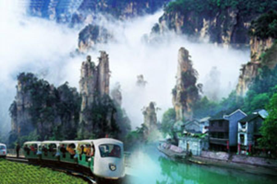 【印象中國PAK】長沙張家界、大峽谷玻璃橋、魅力湘西秀六日 ( 含稅、無購物、無自費 )