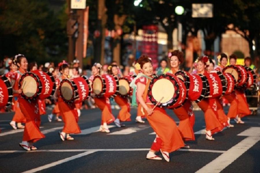 大和熱力◎東北兩大祭、舞動夏夜、魅力夏慶5日