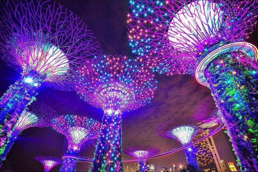 星光閃耀-超級樹+新加坡環球影城+濱海灣 四日