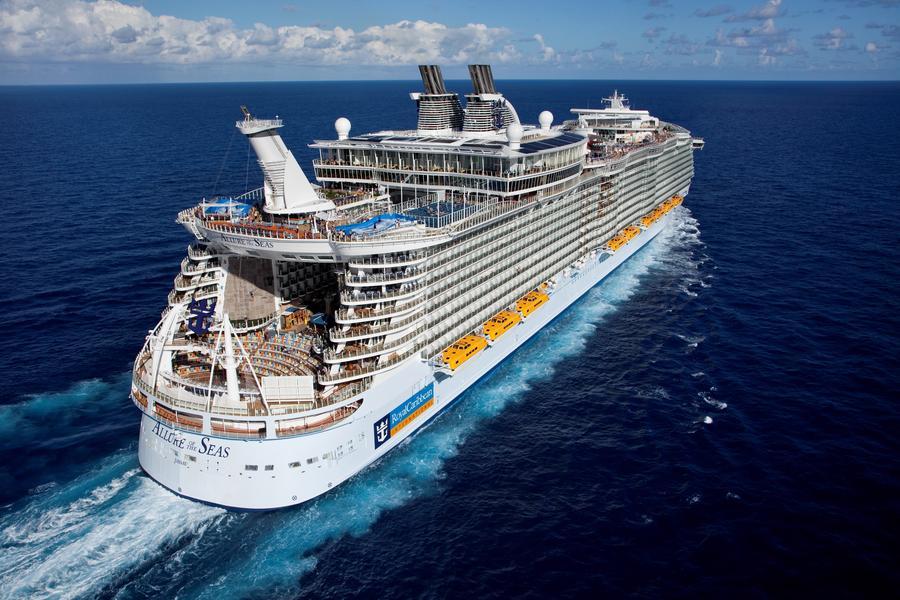 最大【皇家加勒比國際遊輪】海洋魅麗號~海上移動城堡‧處女仙境‧東加勒比海11日