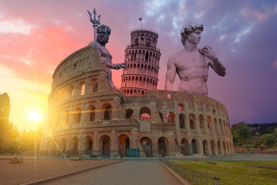 【賺很大】法瑞義鐵力士山、羅浮宮、雙遊船、夜泊威尼斯島上旅館10日