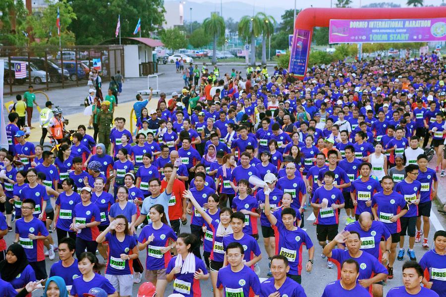 【主題旅遊】2016婆羅洲(沙巴)國際馬拉松 5日