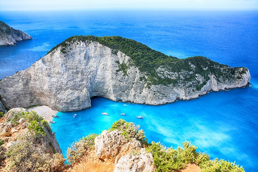 【旗艦典藏】希臘5晚五星、米其林一星、愛情海3島、扎金索斯藍洞12日