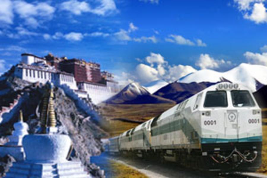 青藏鐵路拉薩、日喀則嚴選8日(升等拉薩聖地天堂洲際酒店1晚、立榮航空直航西寧進重慶出)
